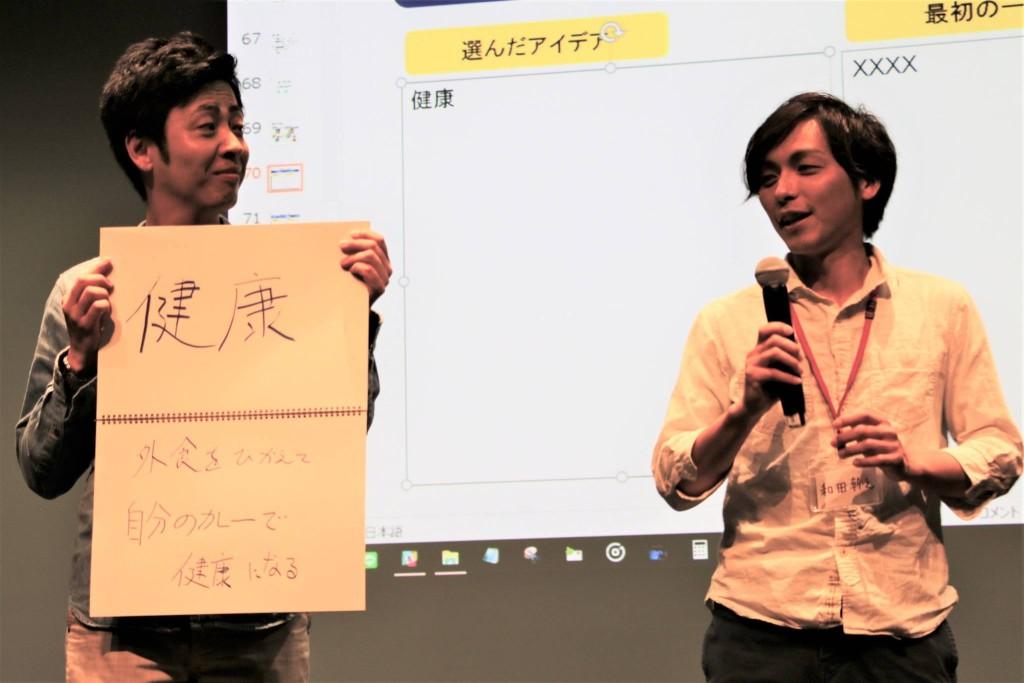 目指したいテーマは「健康」。和田さんはカレーを食べ続けて健康になれるのか!
