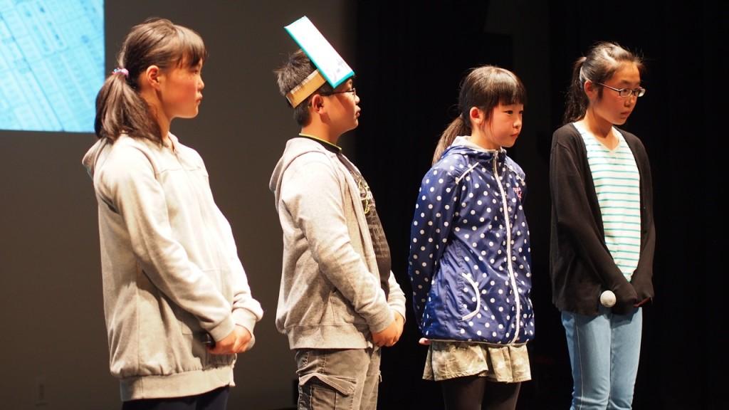 自分たちの力で沖縄に行ってみたいと語る四倉の子どもたち。